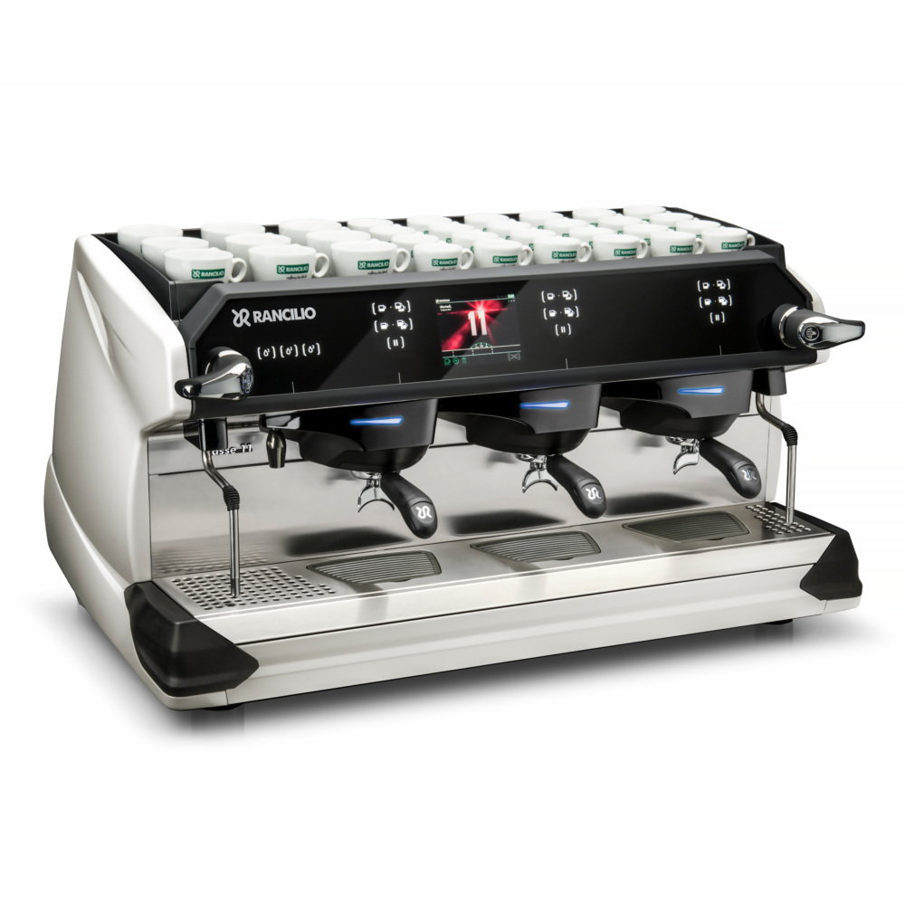 Rancilio CLASSE 11 - 3 Gruppen PEARL WHITE FRONT