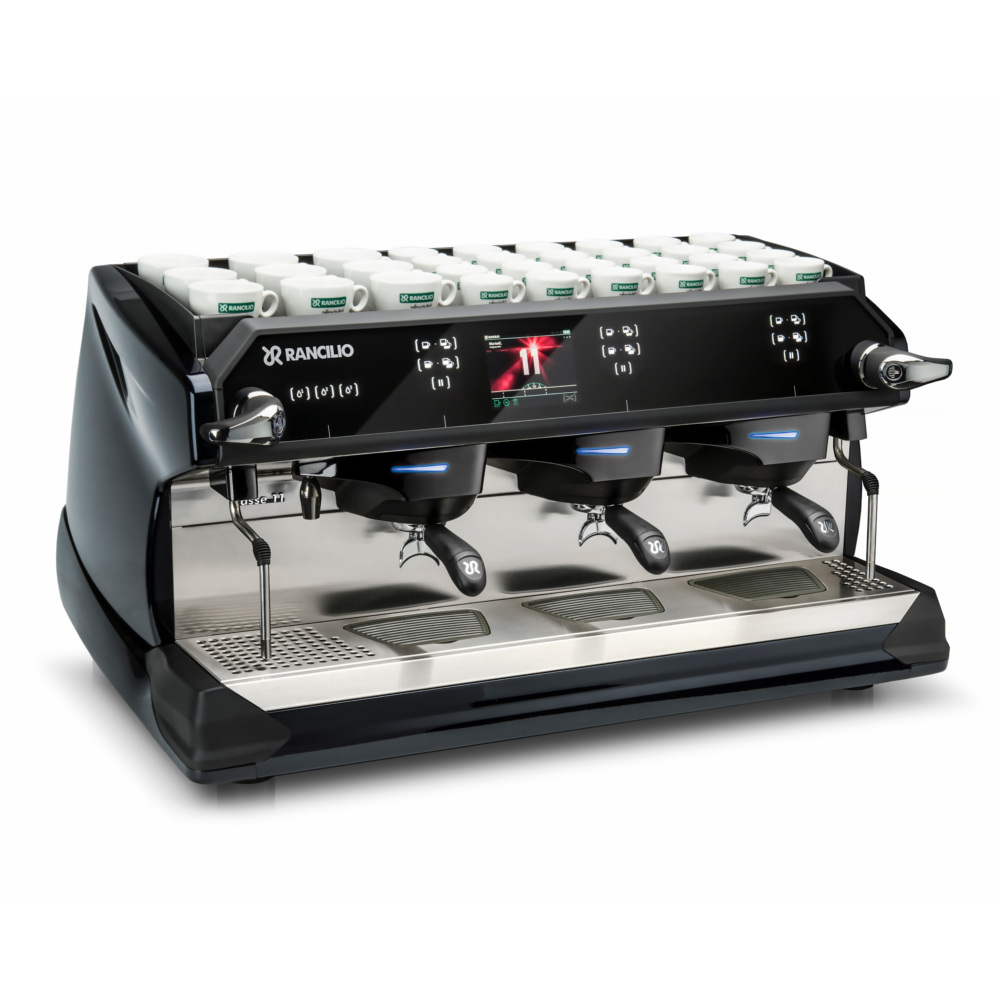 Rancilio CLASSE 11 - 3 Gruppen BLACK NIGHT Front